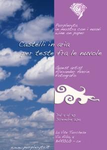 LOCANDINA CASTELLI IN ARIA PER TESTE FRA LE NUVOLE