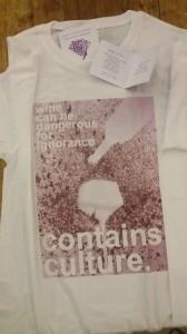 T-shirt man fronte